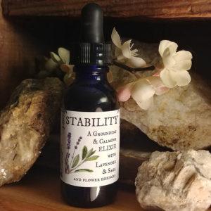 stability elixir bottle